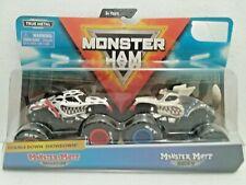 Monster Mutt Dalmatian & Huskey (2019) Spin Master Monster Jam 1:64 Scale Trucks
