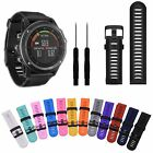 Silicone Replacement Watch Band Strap + Tool For Garmin Fenix 3/Fenix 3 HR Watch