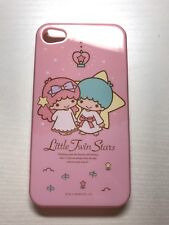 Sanrio Little Twin Star original rose iPhone 4 S Plastique Brillant Dur Coque Téléphone