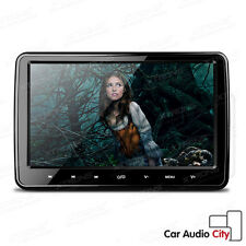 "Digital TFT Screen HD In Car DVD Headrest Monitor 10.1"" Slim USB SD Player HDMI"