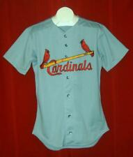 St. Louis Cardinals blank game issue Rawlings 1992 road jersey size 48