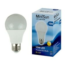 MiniSun 20204 10 W LED High Power Thermal Plastic Frosted Bulb Warm White Long L