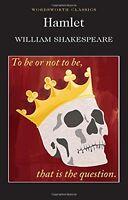 Hamlet (Wordsworth Classics) New Paperback Book William Shakespeare