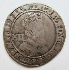 Great Britain James I Shilling Fifth Bust---mm:mullet (1611-12) Second Coinage