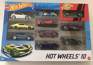 2021 HOT WHEELS 10 Pack - Ford Maverick Grabber, Civic, Skyline, GTO & More -New