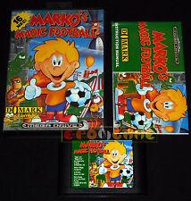MARKO'S MAGIC FOOTBALL MegaDrive Mega Drive Versione Europea PAL ••••• COMPLETO
