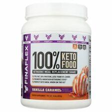 100% Keto Food Vanilla Caramel 420 Grams  by Finaflex