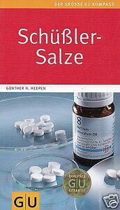 Schüßler-Salze GU, 192 Seiten, Günther H. Heepen, UNGELESEN, wie neu