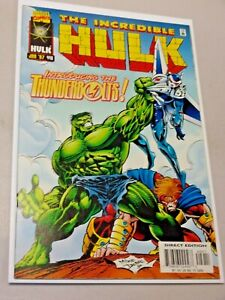 Incredible Hulk #449 1st appearance of Thunderbolts 1997 Marvel Very High Grade
