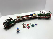 LEGO Train: 9V: Holiday Train 10173 - Coal car, gift car and tree car ONLY.