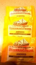 3 x Fisherman's Friend - Aniseed  - 25 g each  - free postage