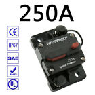 30-300A AMP Circuit Breaker Fuse Reset 12V-48V DC Car Boat Auto Waterproof US