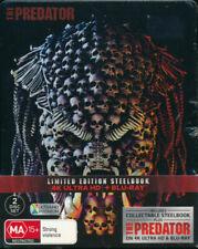 The Predator 4k Ultra HD Blu-ray Steelbook Edition Region B Collectors