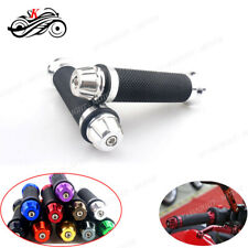 "Motorbike 7/8"" 22mm CNC Handle Bar Hand Grips For Suzuki GSXR 600 750 1000F 650F"