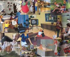 Rossignol Roureillier Oge Hachette 1960s Rare School Posters CHOICE