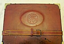 Vintage Brown Small Carrying Case
