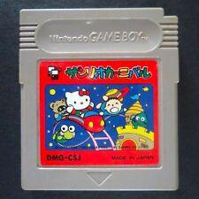 SANRIO CARNIVAL Nintendo Game Boy JAPAN・❀・PUZZLE HELLO KITTY DMG-CSJ サンリオカーニバル