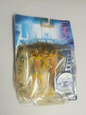 Mib Men in Black Neeble & Gleeble Alien Worm Action Figures 1997 Sealed Bendable