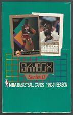 1990-91 Skybox Basketball Series II Sealed Box of 36 Packs Possible Jordan 10