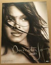 JANET JACKSON Rare 2004 PROMO POSTER for Damita Jo CD 18x24 NEVER DISPLAYED USA