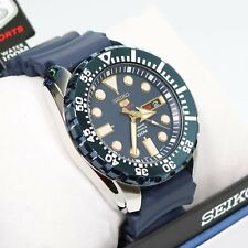 Seiko Men's Diver Automatic Blue Dial And Rubber Men's Watch SRP605K2