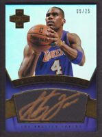 2012-13 Innovation Innovative Ink Gold #9 Antawn Jamison Auto 05/25 LA Lakers