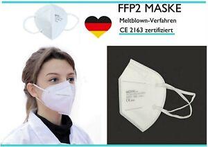50 Stück FFP2 Maske Mundschutz Atemschutz Mund Nase 5 lagig CE zertifiziert✅