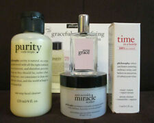Philosphy Miracle Worker Age-Defying 4 Piece Gift Set Time In A Bottle New
