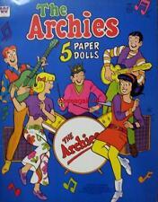 Vintage Uncut 1969 The Archies Paper Dolls~#1 Reproduction~Trip Down Memory Lane