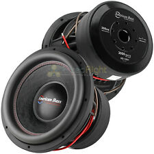 "2 Pack American Bass 12"" Competition Subwoofer 3000W Max Dual 1 Ohm HD Series"