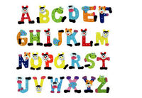 26 Pcs Wooden Alphabet Fridge Magnets Baby Early Childhood Toys For ChildreRASK
