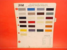 1980 DODGE PICKUP TRUCK 4x4 RAMCHARGER PLYMOUTH TRAIL DUSTER VAN PAINT CHIPS