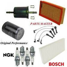 Tune Up Kit Filters Spark Plugs For FORD FOCUS L4 2.0L DOHC;3 ENG CODE 2000-2004