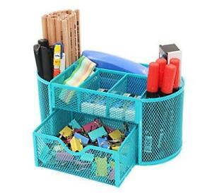 PAG Office Supplies Mesh Desk Organizer Pencil Holder Pen Cup Accessories