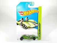 Hot Wheels Super Treasure Hunt Green Twin Mill HW Workshop Car w/ Protecto New