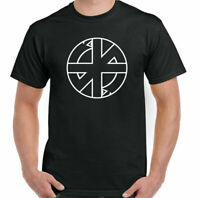 CRASS SYMBOL T-Shirt Mens Punk Rock Logo Anarchy Anarchist Music Unisex Top
