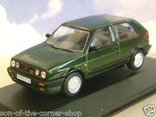 VANGUARDS 1/43 1990 VOLKSWAGEN VW GOLF MK2 MKII GTi 16V OAK GREEN LHD VA13604B