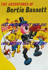 Bertie Bassett Liquorice Allsorts A4 size vintage 1950's poster advert sign