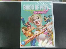 Birds of Prey (Harley Quinn) (Margot Robbie) - DVD - UK - Brand New & Sealed