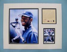 Seattle Mariners KEN GRIFFEY JR 1997 MLB Baseball 11x14 Matted Lithograph Print