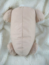 """20"""" doe suede cloth reborn baby doll kit body for 3/4 arms & full jointed legs!"""