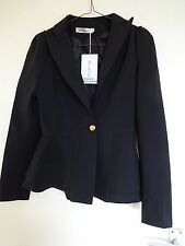 Ladies' Black Fully Lined Jacket (with Chinese label - see description) Size S