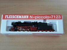 Fleischmann N 7123 - Schlepptenderlok BR 23 102-7 der DB, neuwertig OVP
