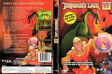 Dragon's Lair III (DVD, 2004) DVD-Video, PS2, & XBox Compatible