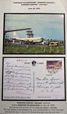 1959 Shannon Free Airport Ireland Picture Postcard Cover To Chicago IL USA