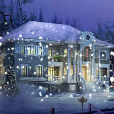 Outdoor Christmas Lights Laser projector Power Fairy Projector snow Lamp House