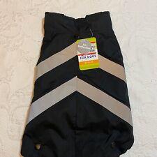 Top Paw Black Reflective Dog Vest Coat w/ Removable Sweater Size Medium New