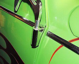 Stainless Steel Volkswagen Beetle Hinge Cover, Bug VW all Years
