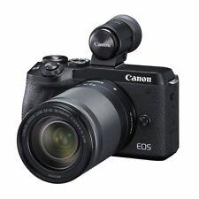 Near Mint! Canon EOS M6 Mark II 18-150mm IS STM EVF-kit Black - 1 year warranty