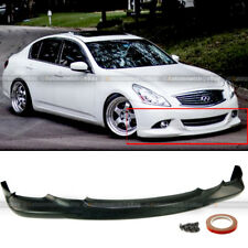 For 10-13 G37 Sedan 4Dr Unpainted Oe Style Pu Front Bumper Lip Body Kit Spoiler